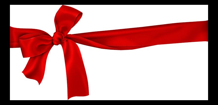 fiocco per regalo di compleanno rosso