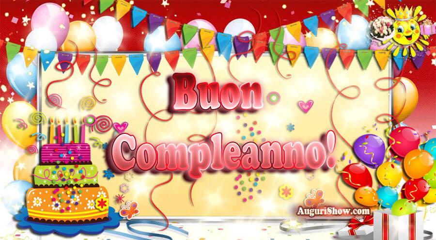 Buon Compleanno Immagine