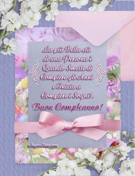 Cartolina Buon Compleanno