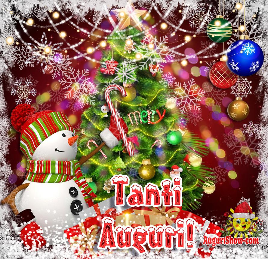 Buon Natale E Buone Feste! Tante Auguri