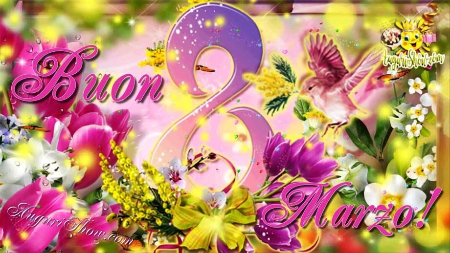 Buon 8 Marzo! Auguri a Tutte le Donne! Immagine