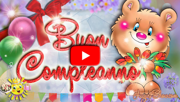 Video Buon Compleanno canale YouTube AuguriShow