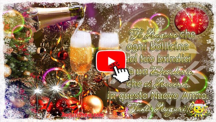 Video Auguri di Buon Anni Nuovo